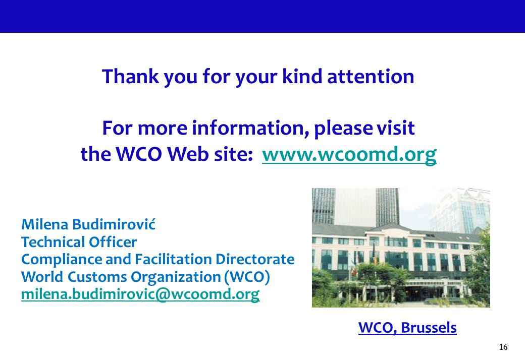 Thank you for your kind attention For more information, please visit