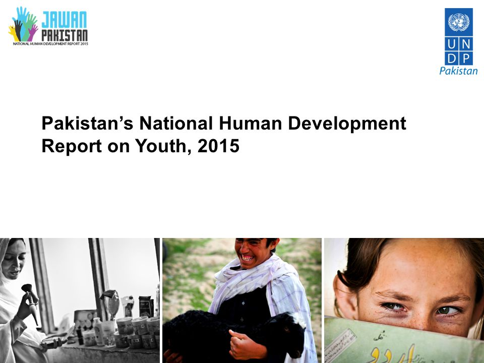 Pakistan's National Human Development Report on Youth, 2015