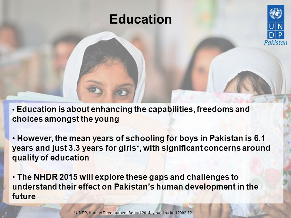 Education Education is about enhancing the capabilities, freedoms and choices amongst the young.