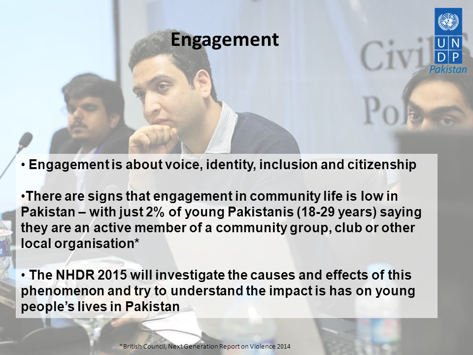 Engagement Engagement is about voice, identity, inclusion and citizenship.