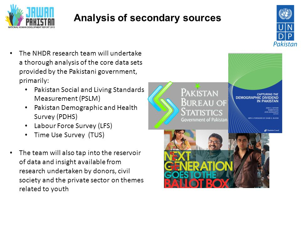 Analysis of secondary sources