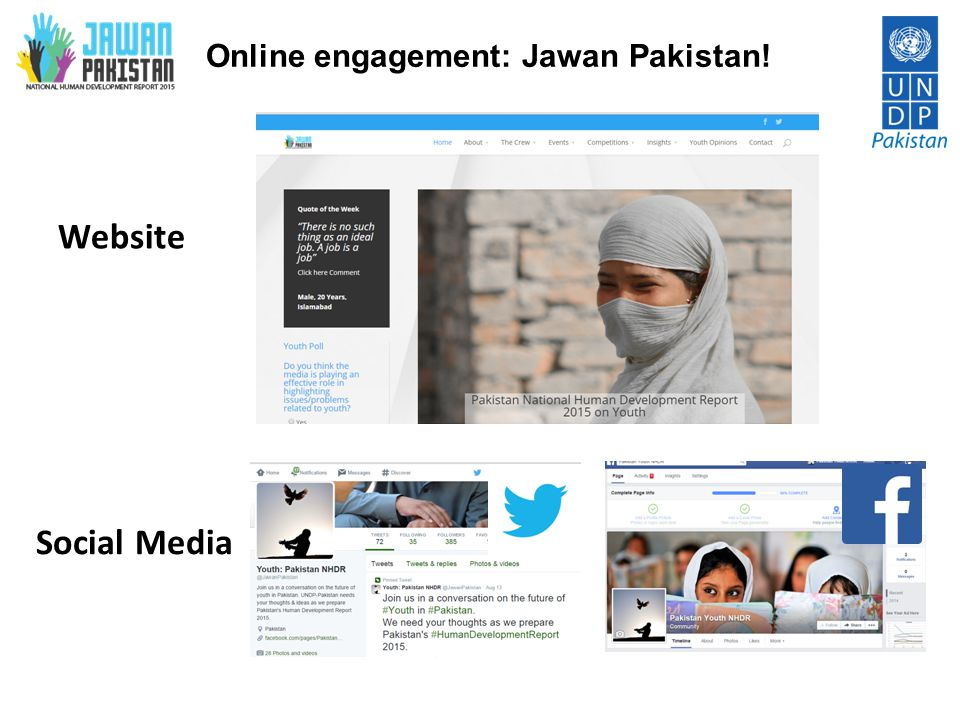 Online engagement: Jawan Pakistan!