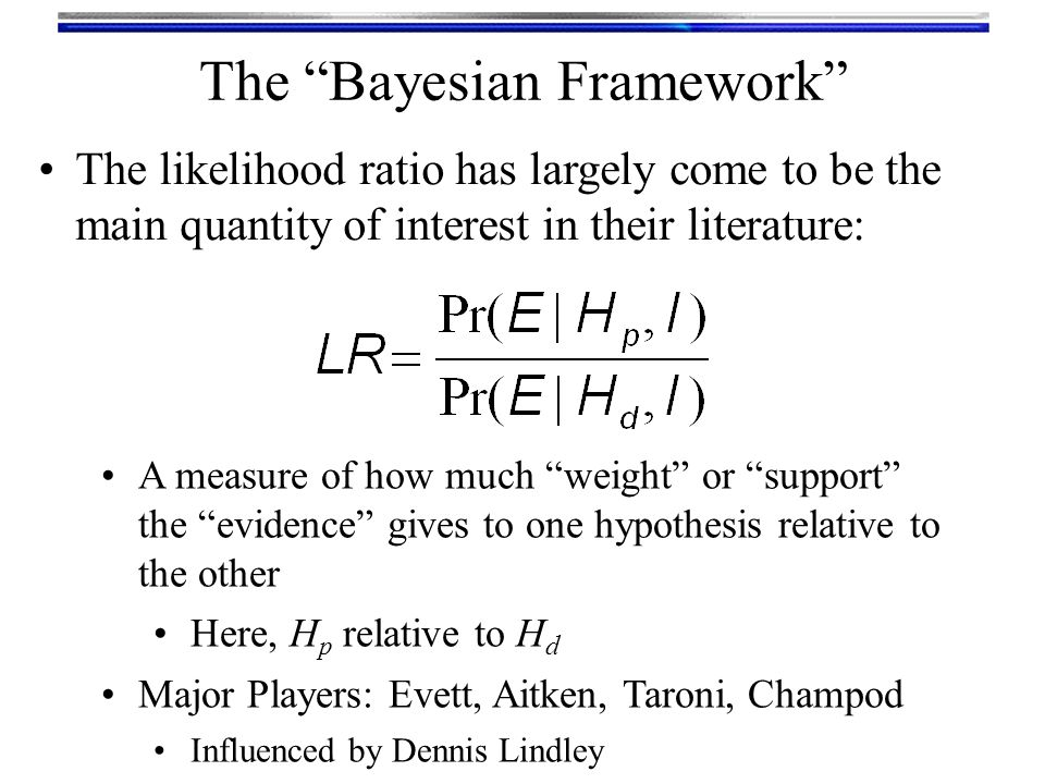 The Bayesian Framework