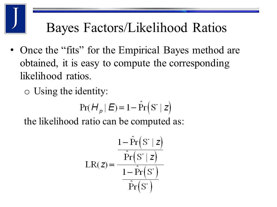 Bayes Factors/Likelihood Ratios