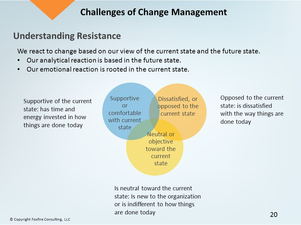 challenges of change management in an organization pdf