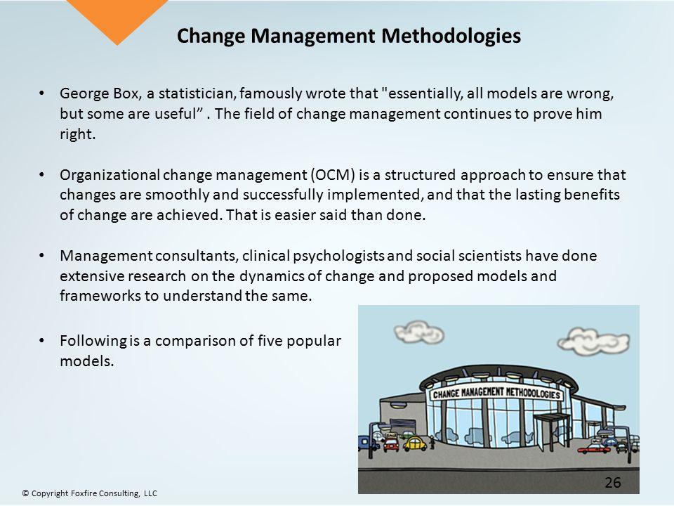 Change Management Methodologies