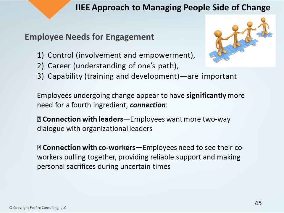 IIEE Approach to Managing People Side of Change