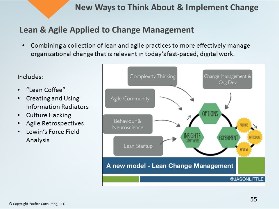New Ways to Think About & Implement Change