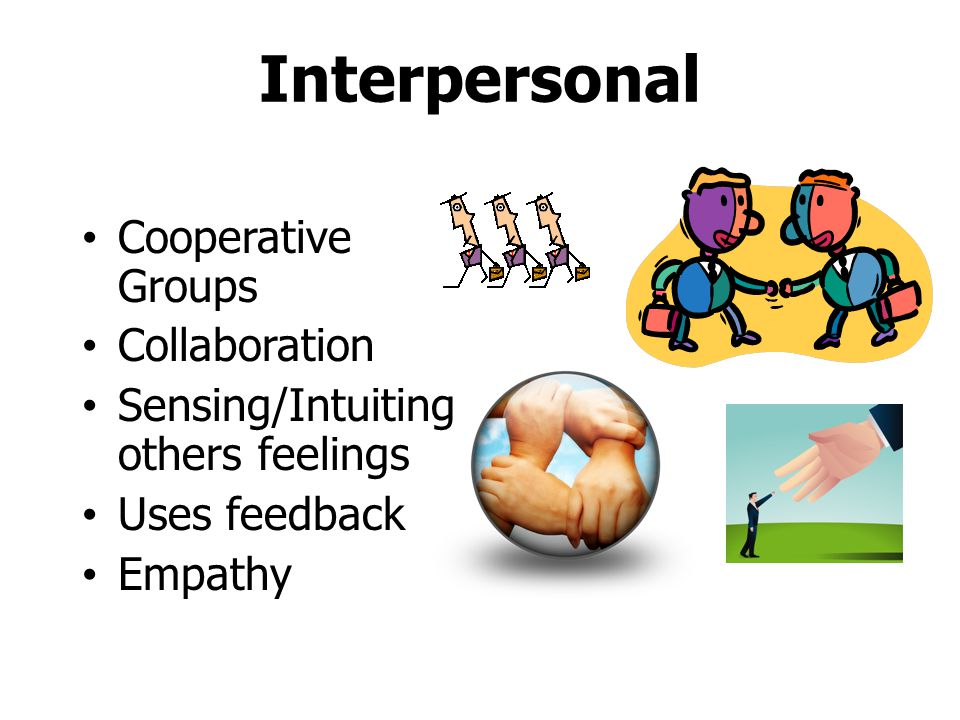 Interpersonal Cooperative Groups Collaboration