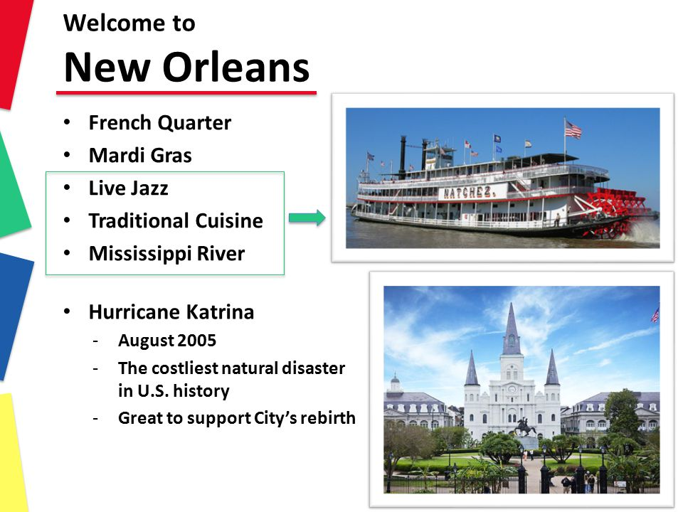 Welcome to New Orleans French Quarter Mardi Gras Live Jazz