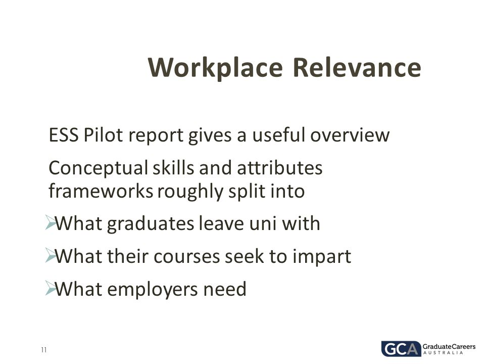 Workplace Relevance ESS Pilot report gives a useful overview