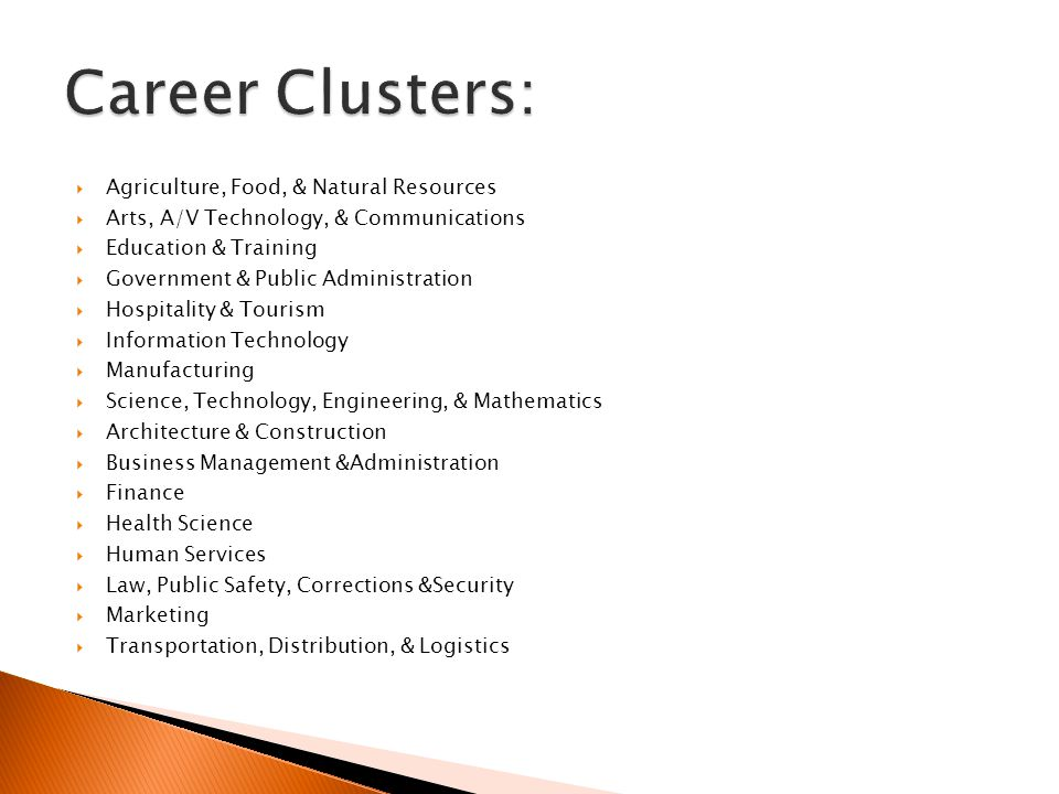 Career Clusters: Agriculture, Food, & Natural Resources