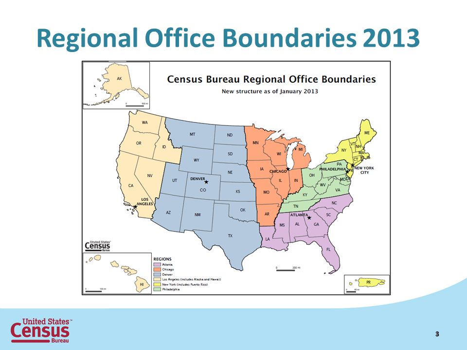Regional Office Boundaries 2013