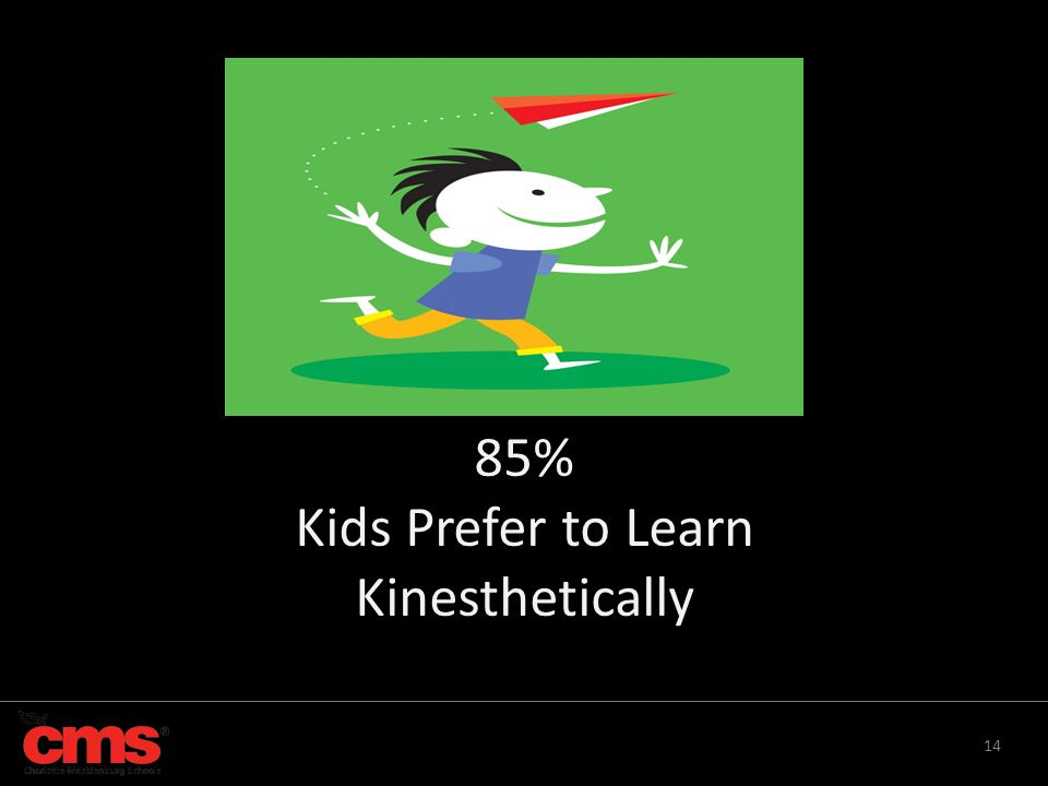 Kids Prefer to Learn Kinesthetically
