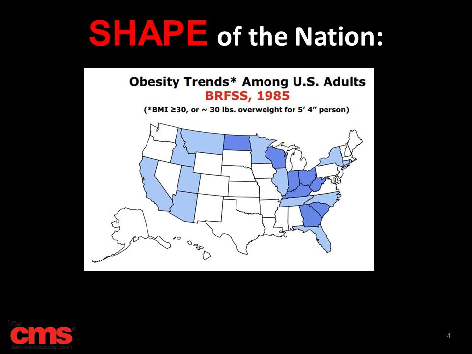 SHAPE of the Nation: