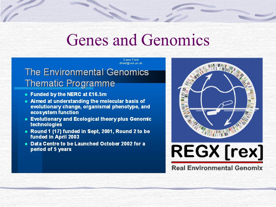 Genes and Genomics