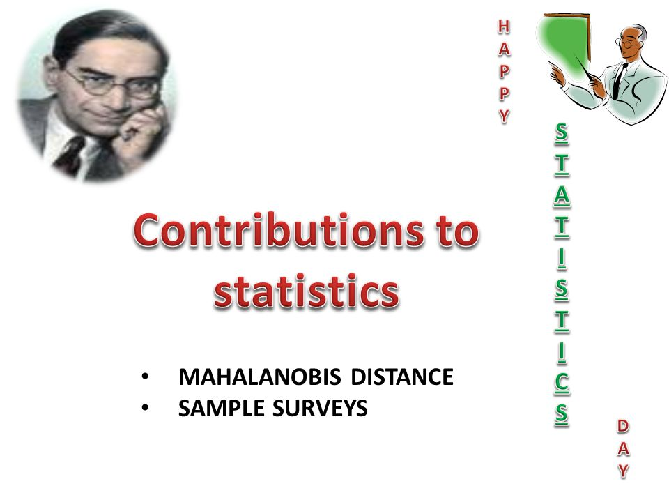 Contributions to statistics
