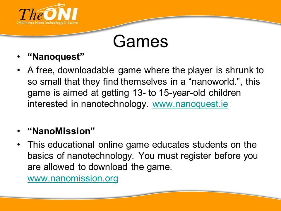 Games Nanoquest