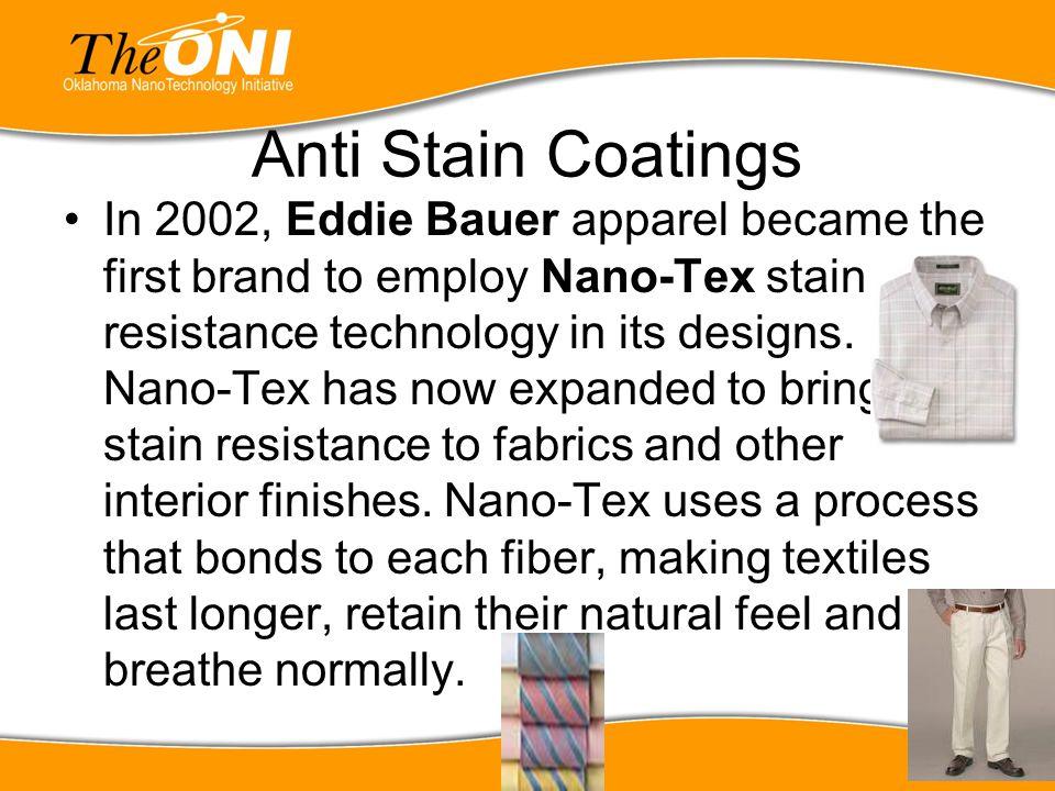 Anti Stain Coatings