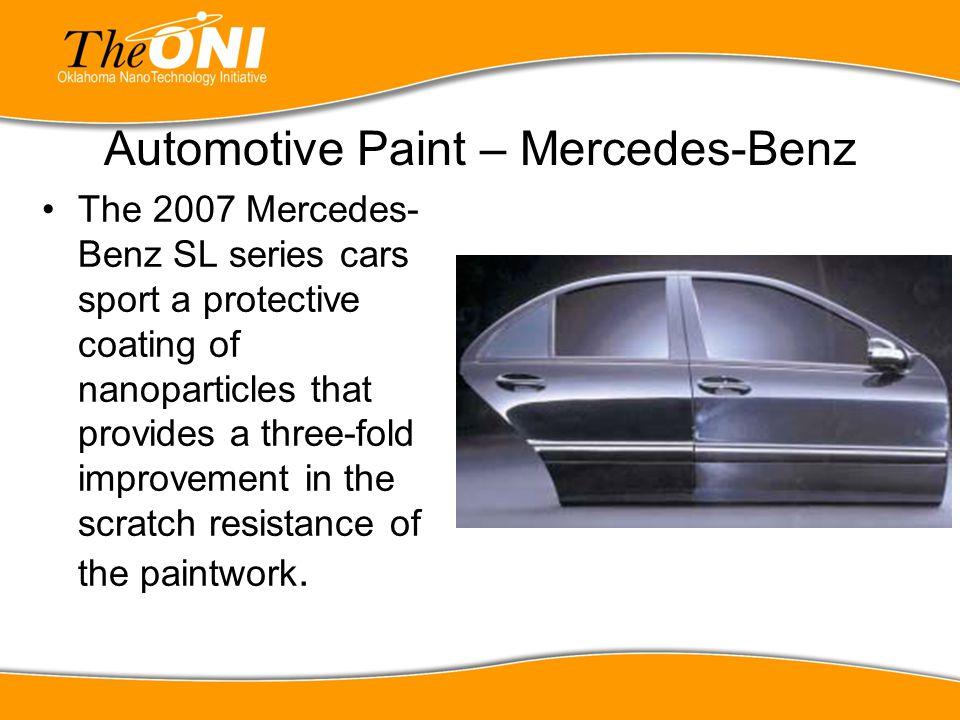 Automotive Paint – Mercedes-Benz