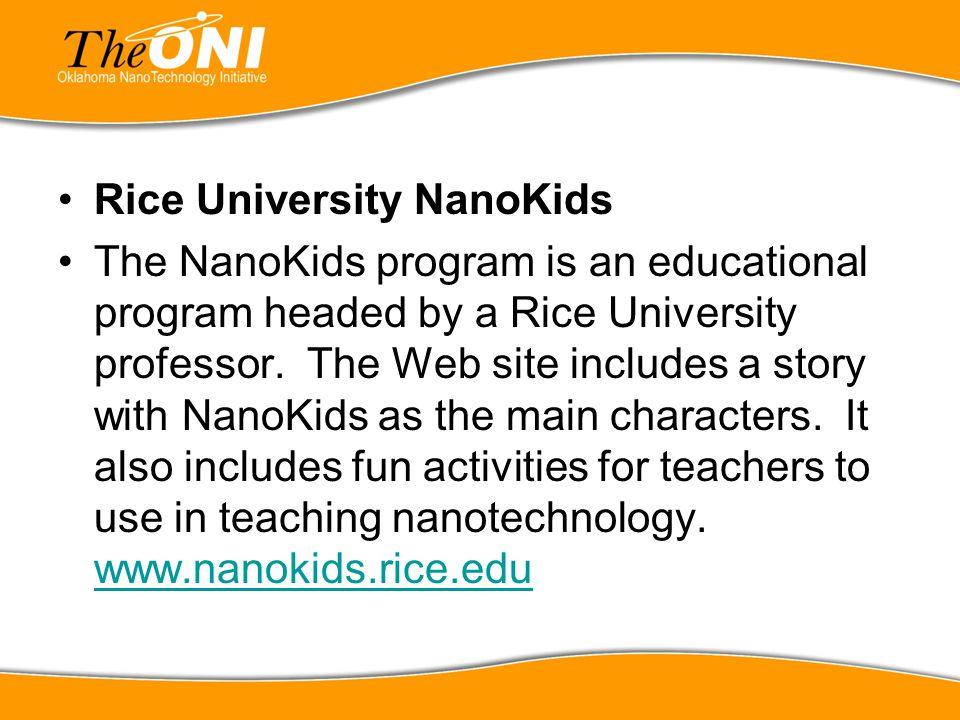 Rice University NanoKids