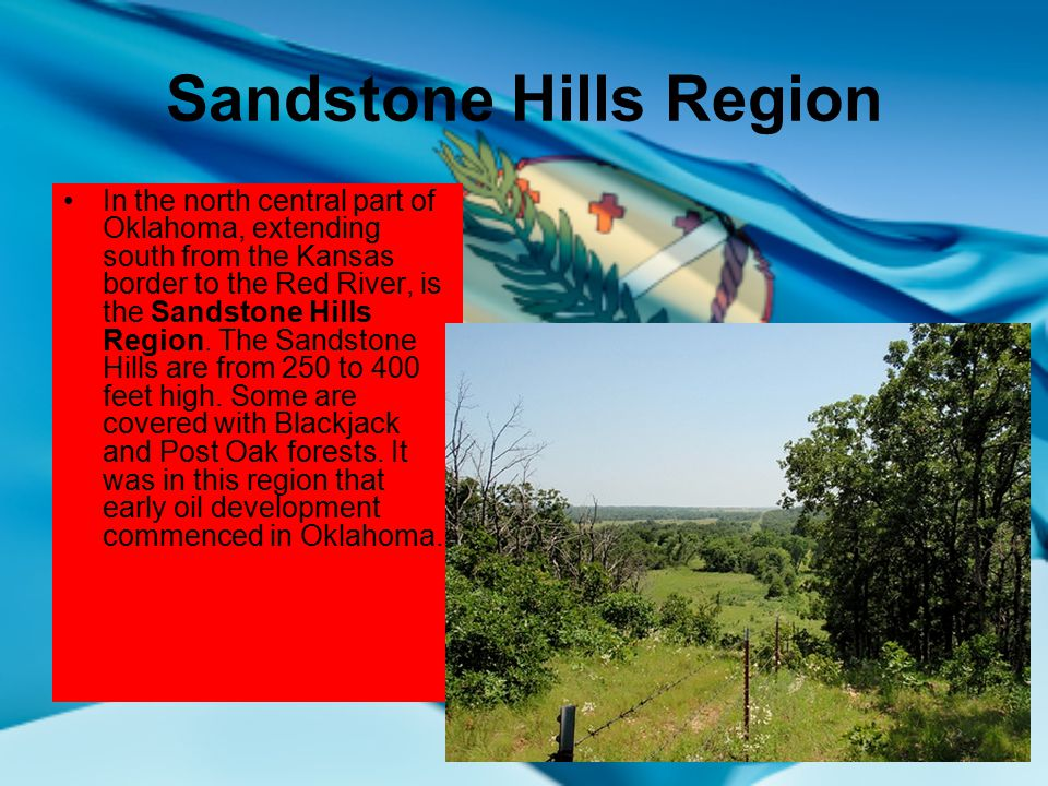 Sandstone Hills Region