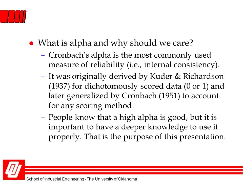 What is alpha and why should we care