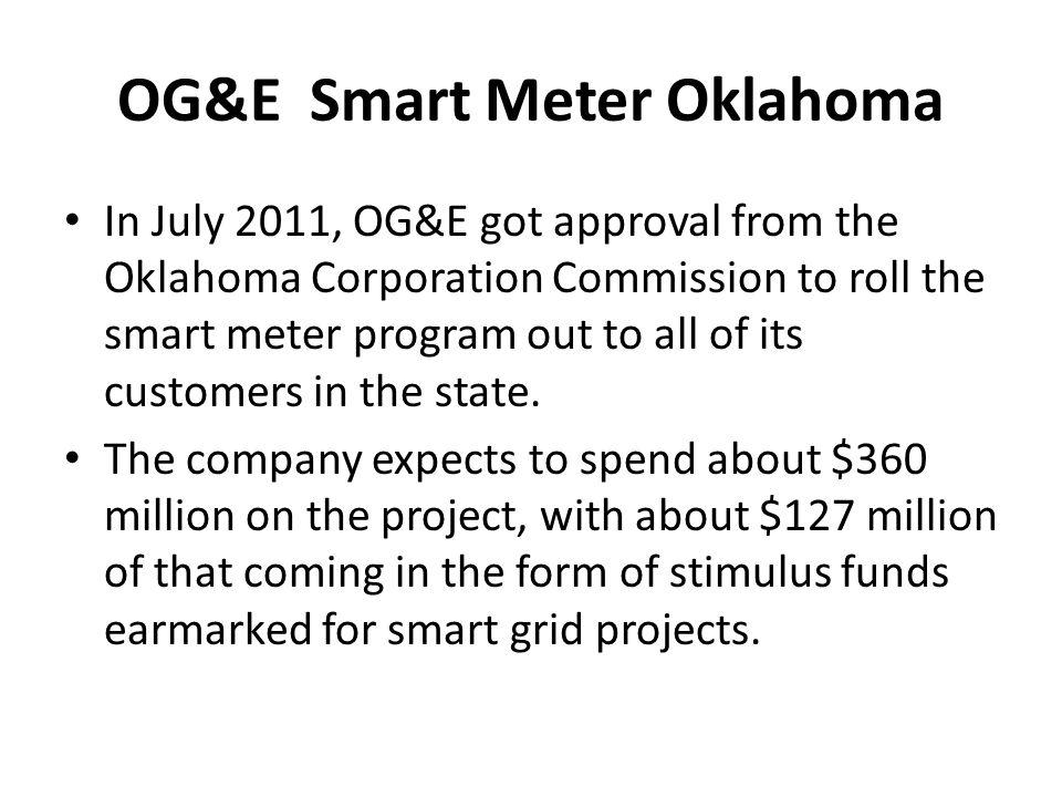 OG&E Smart Meter Oklahoma