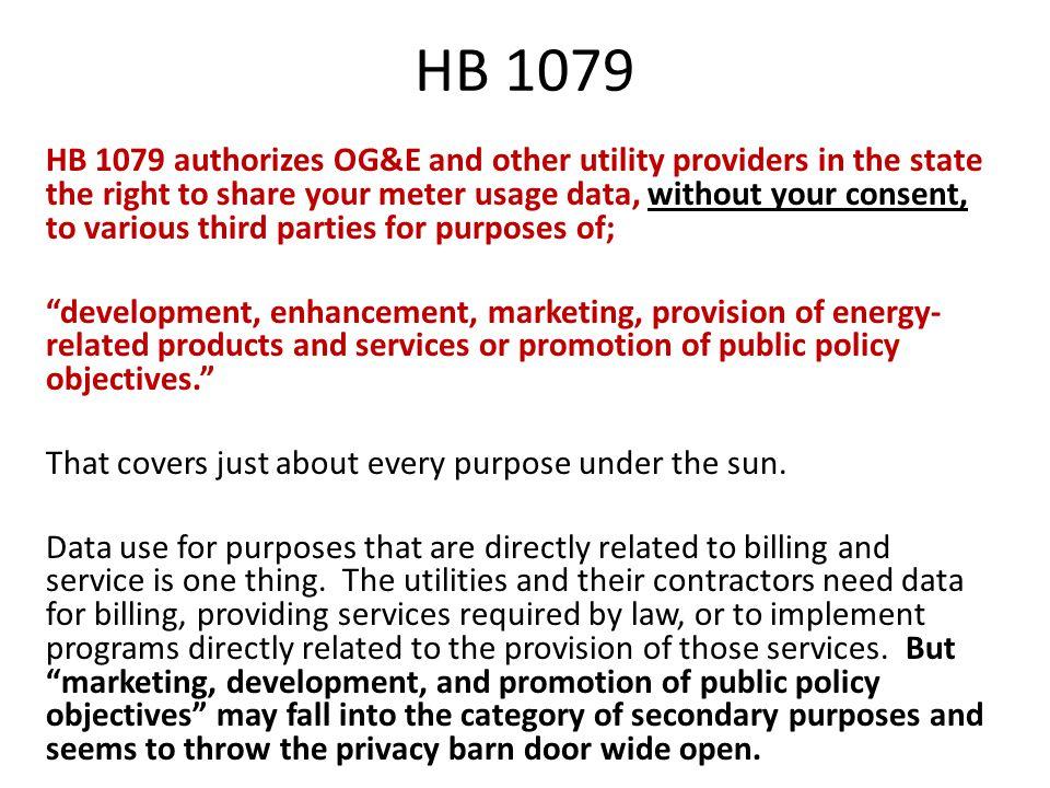 HB 1079