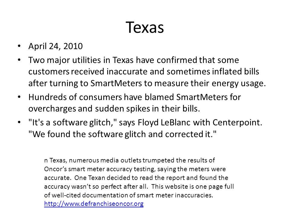 Texas April 24, 2010.