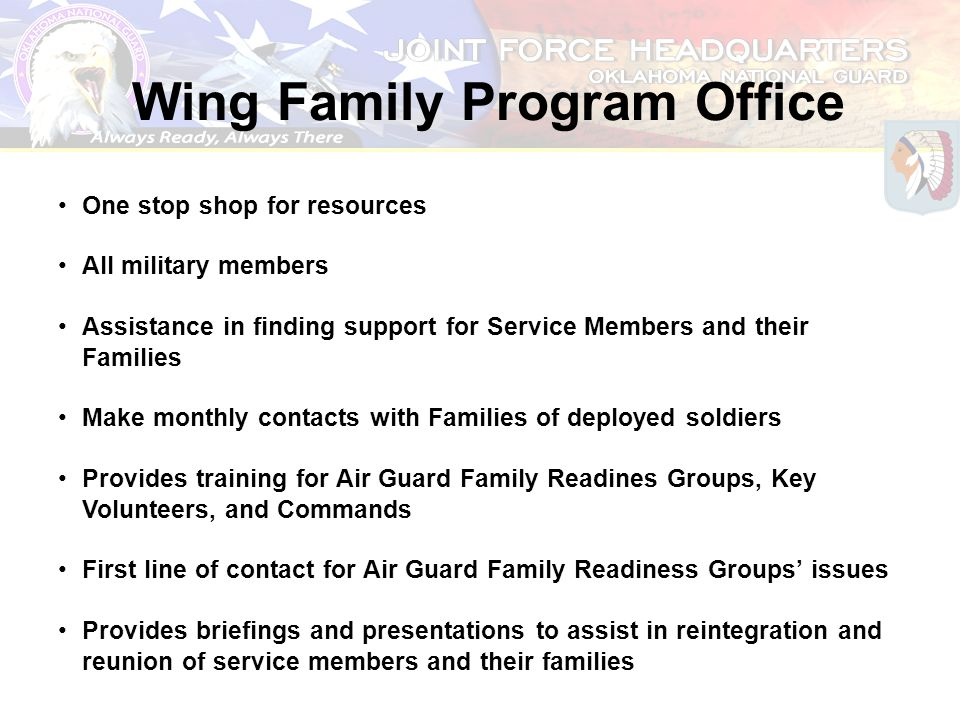 Wing Family Program Office