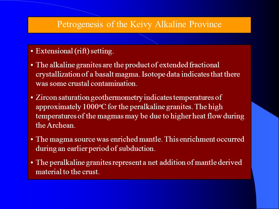 Petrogenesis of the Keivy Alkaline Province