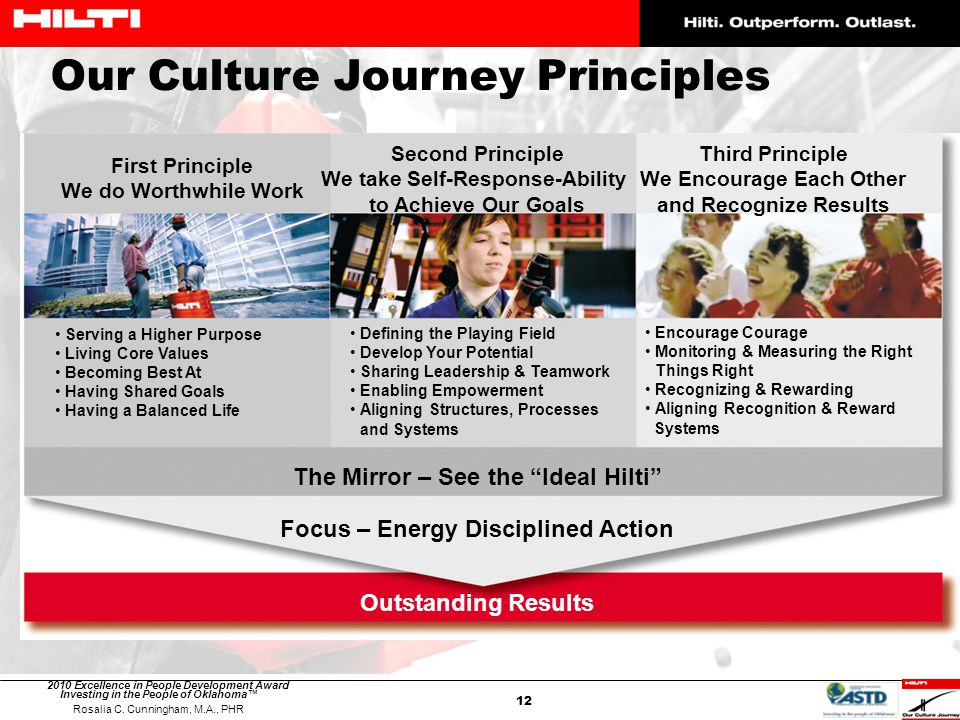 Our Culture Journey Principles