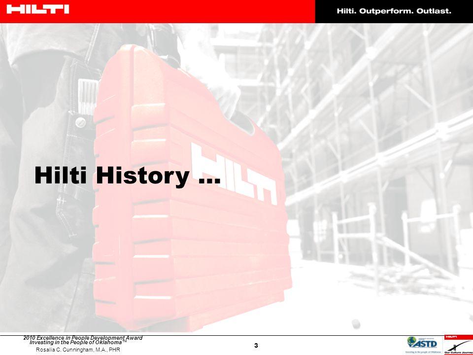 Hilti History …