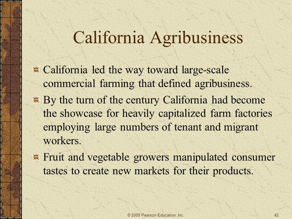 California Agribusiness