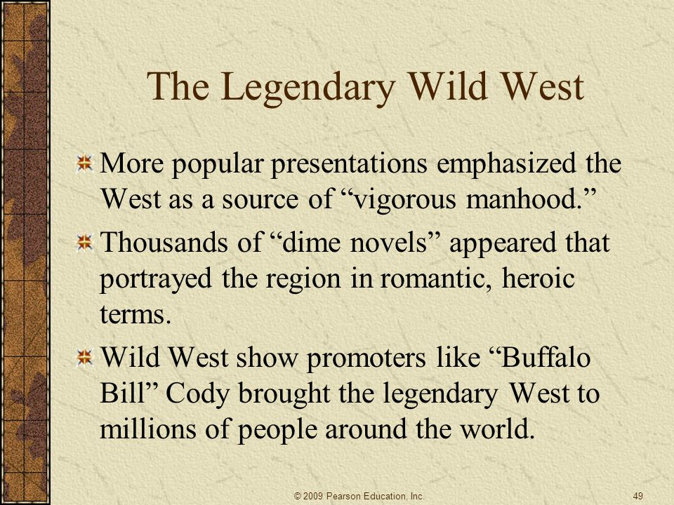 The Legendary Wild West