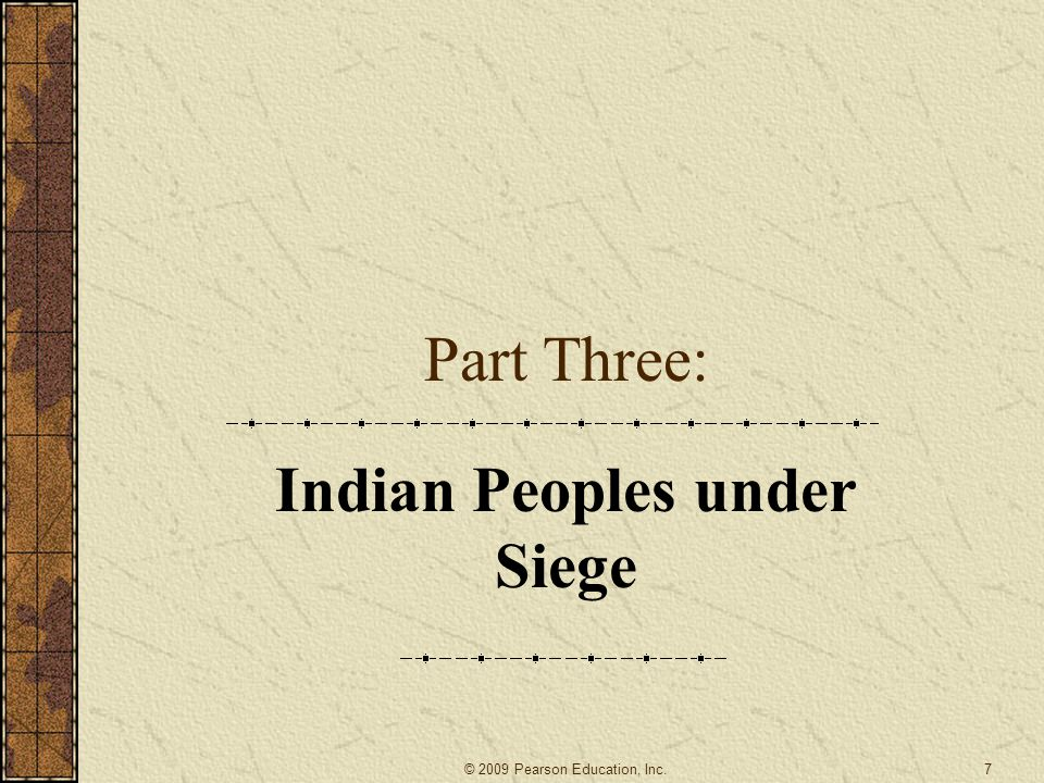 Indian Peoples under Siege
