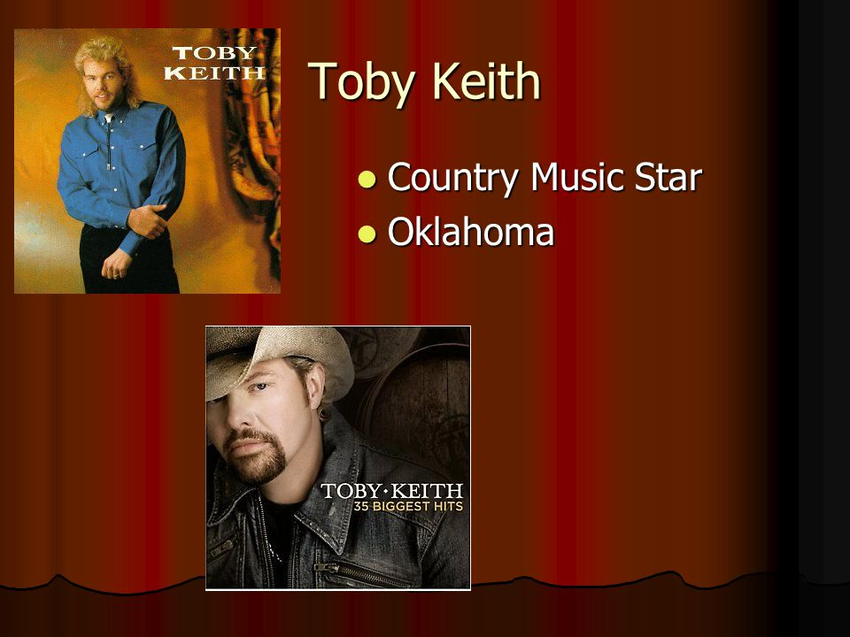 Toby Keith Country Music Star Oklahoma