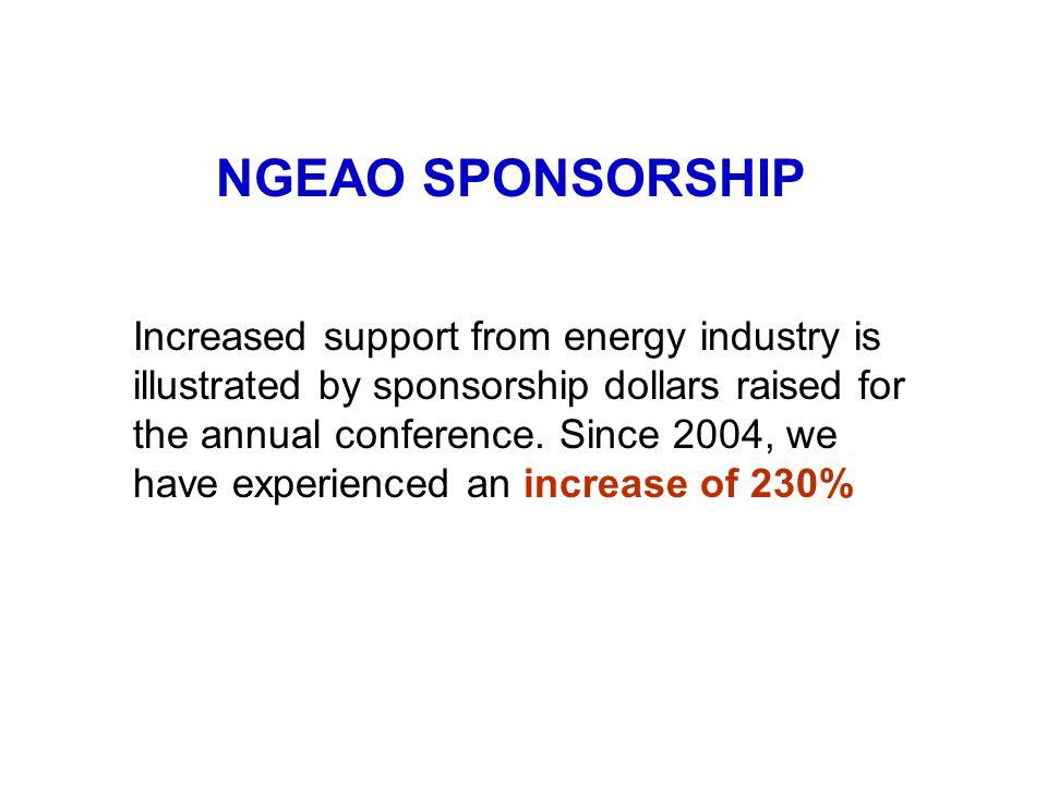 NGEAO SPONSORSHIP