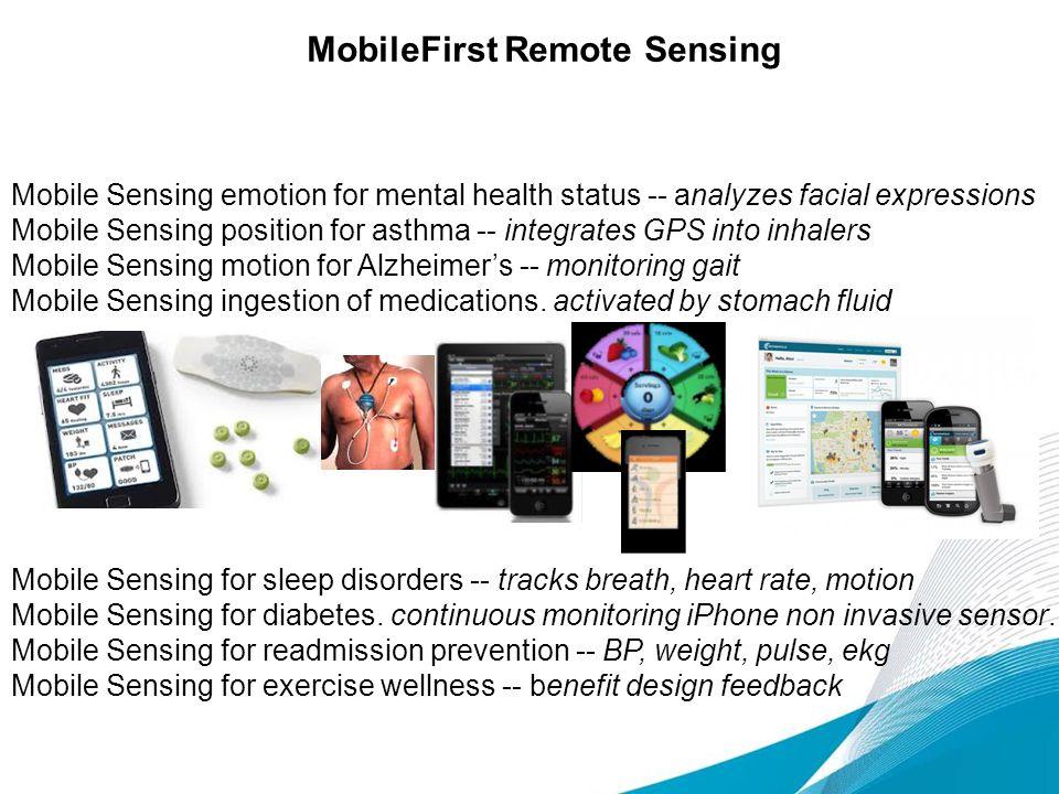 MobileFirst Remote Sensing