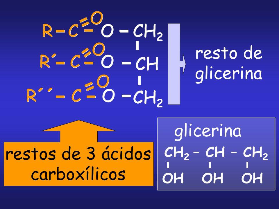 restos de 3 ácidos carboxílicos