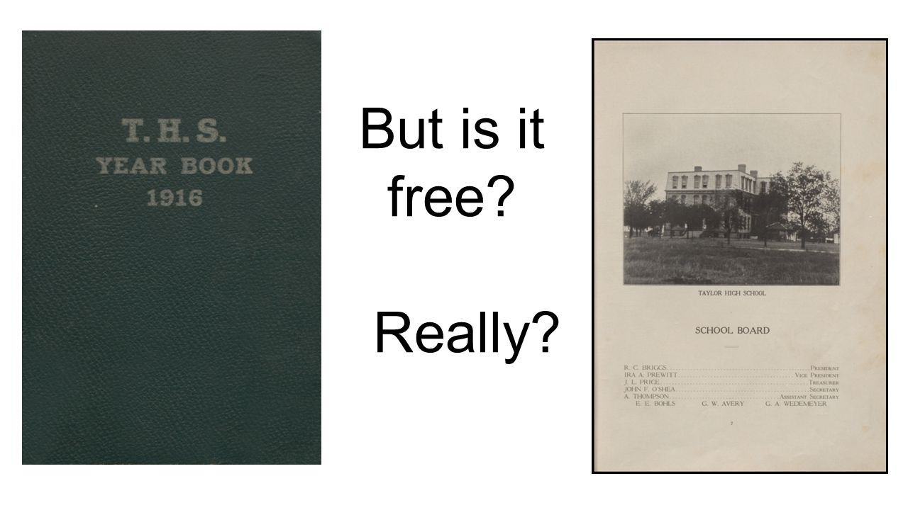 But is it free Really