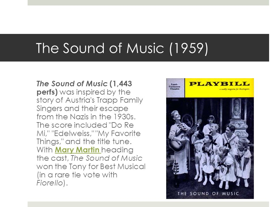 The Sound of Music (1959)