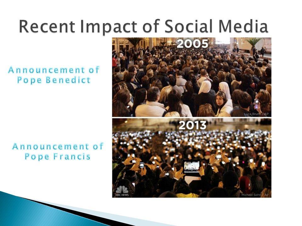 Recent Impact of Social Media