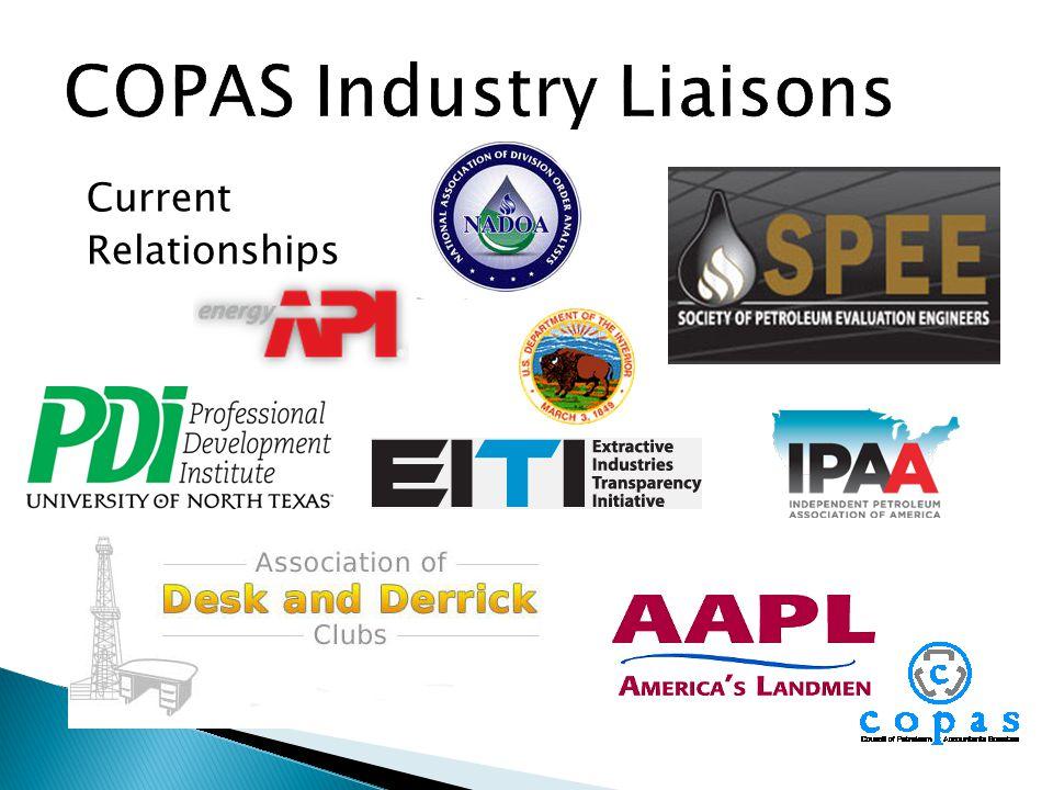 COPAS Industry Liaisons