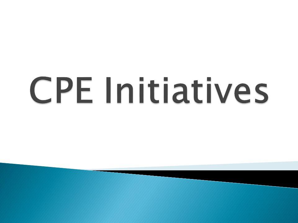 CPE Initiatives