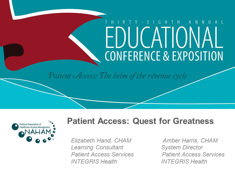 Patient Access: Quest for Greatness