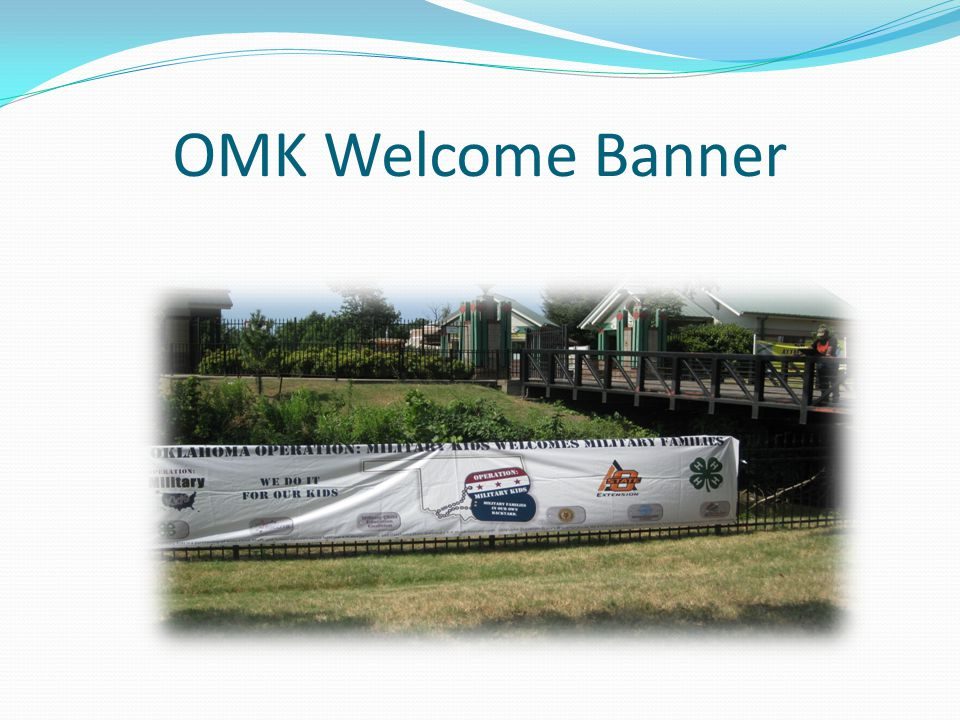 OMK Welcome Banner