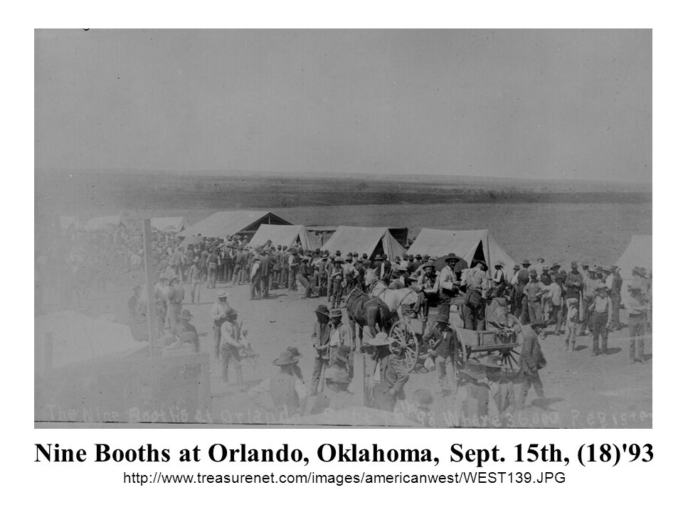 Nine Booths at Orlando, Oklahoma, Sept. 15th, (18) 93 http://www