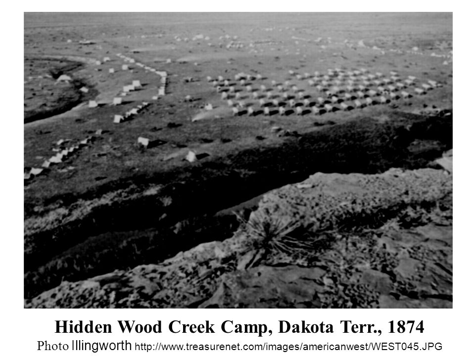 Hidden Wood Creek Camp, Dakota Terr